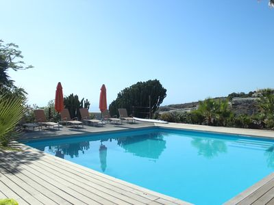 Photo for beautiful holiday home on private holiday Finca with heated pool