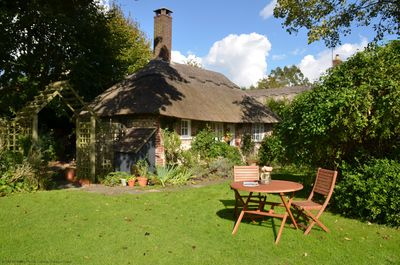 Martins Cottage - View of the cottage from the gardens