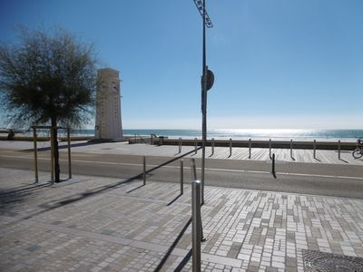 Photo for Studio furnished in residence at 30 m from the beach