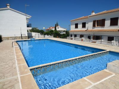 Photo for PEÑISCOLA: APARTMENT TOWNHOUSE WITH SWIMMING POOL for holidays