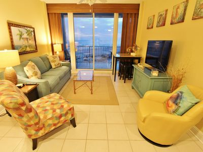 Photo for Sept $89 Spec.$Lighthouse Condo - Gulf View -Front Door Parking-3 Pools-Bunk Rm