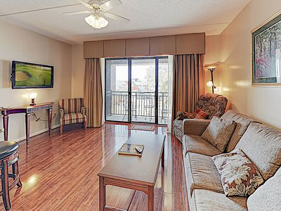 Photo for New Listing! Double-Unit Condo w/ River Views & Walkable Locale