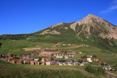 The condo is located in picturesque Mt. Crested Butte.