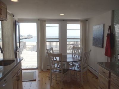 View of Provincetown Bay from the kitchen