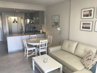 Photo for BEAUTIFUL APARTMENT IN ISLA CANELA (AYAMONTE) IN FIRST LINE OF BEACH