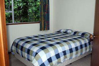 Double bed in bedroom 2.