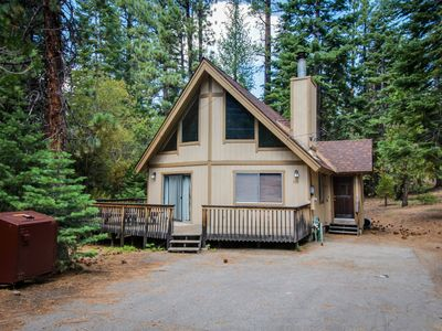 Photo for Cozy cabin in a quiet neighborhood; close to attractions