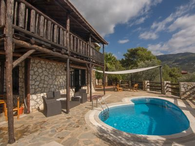 Photo for Stunning Traditional Villa With Private Pool, Large Gardens And Amazing Sea View