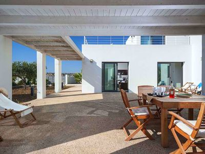 Photo for New villa at 300m from the sea with very big garden and a barbecue