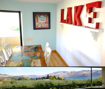The most centrally located, and best-decorated vacation rental in Lake Chelan