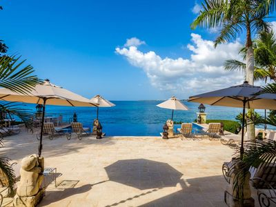 Photo for Balinese-Style, Ocean Views All Day!, Full Staff incl. Cook, Infinity Pool, AC, Free Wifi
