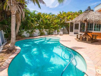 Photo for QUIET MONTHLY BEACH RETREAT WITH HEATED PRIVATE HEATED POOL! FALL MONTHS STILL AVAILABLE FOR 2020!
