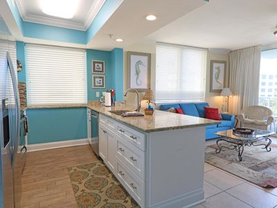 Photo for Sandpiper 508-1 BR+Bunk Bayside Condo with Amazing views, Lazy River & Pools!