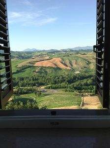 Photo for Italy, Le Marche: Holiday home - 3 bedrooms, terrace with lovely views, garden.