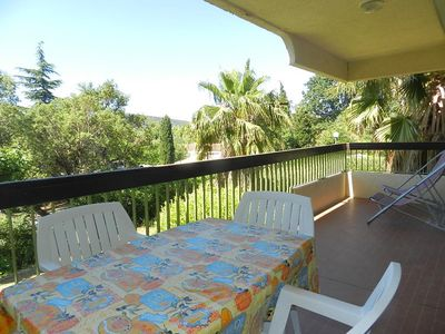 Photo for THE LAVANDOU - PLEASANT 2 Rooms. Residence raised and CALM. Near conveniences.