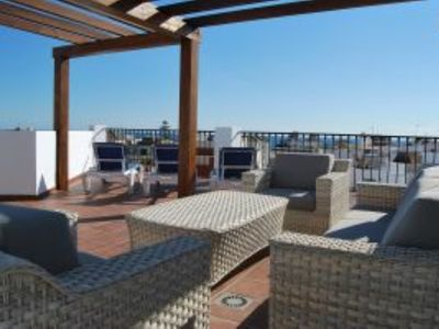 Photo for AP249 Beautiful penthouse located in the historic centre of the town