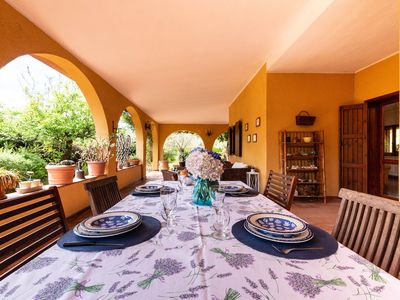Photo for Holiday Home with Wi-Fi, Air Conditioning, Garden and Terrace - La Casa di Laura