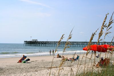 Just minutes from a beautiful and relaxing beach and pier.