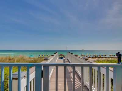 Photo for Oceanfront condo w/sweeping views, shared hot tub & pool - Snowbirds welcome!