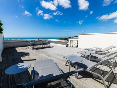 Photo for ROOFTOP Appartement moderne, vue mer et terrasses