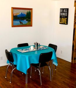 1950's dining set redesigned and made new just for you.