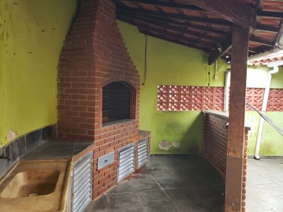 Photo for Excellent house with barbecue, 2 bedrooms 700 meters from the beach