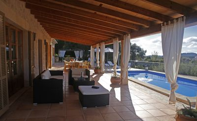 Photo for SA ROTA, villa between 200 orange trees with the best views of the town of San Juan