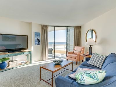 Photo for Oceanfront condo, private community, close to restaurants and attractions