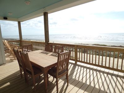 Photo for ENJOY THE PANORAMIC VIEW OF THE OCEAN, SURROND SOUND, ROCKING CHAIRS,
