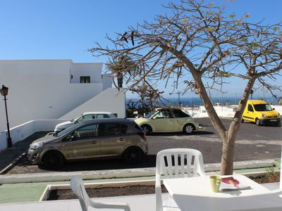 Photo for Delightful 1 bedroom apartment with pool and sea view with large sun terrace.