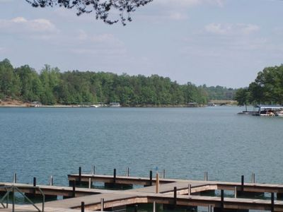 Photo for Fabulous Lake Front Townhouse with great views of Lake  (12 Miles from Clemson)