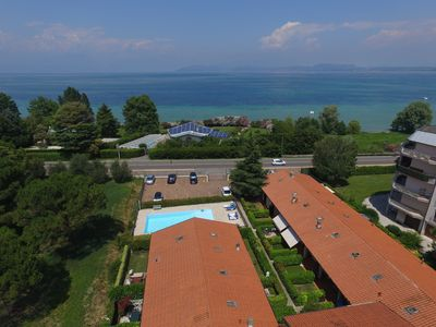 Photo for Very beautiful apartment in residence with pool; only 300 meters from the sea