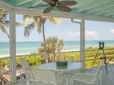 Photo for Direct Beachfront 3-Bed / 3-Bath on Bonita Beach | Large Decks for Sunset Views