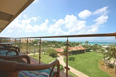 Breathtaking ocean and pool view from your balcony