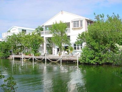 Photo for 3 Bedroom 2 Bath canal-front home with great open water views