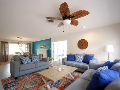 "Photo for ""Peaceful Sol"" - Spacious 3 bd/2 bath, Manasota Key FL, One door from the ocean"