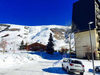 """Photo for CENTER AND CLOSE TO THE """"DIABLE"""" CHAIR LIFT AT 15 METERS. AMAZING VIEW/SKI/BIKE"""