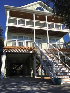 Photo for Beautiful Upscale Beach Home!  Steps To The Beach!