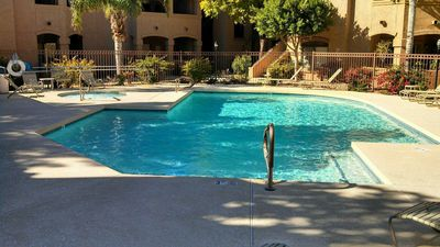 2nd pool and hot tub