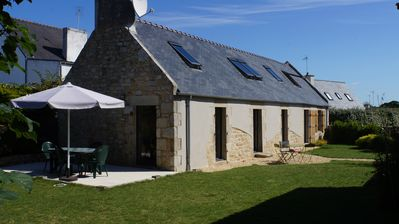 Photo for At the heart of Bigouden, renovated farmhouse on the beach (4/5 people)