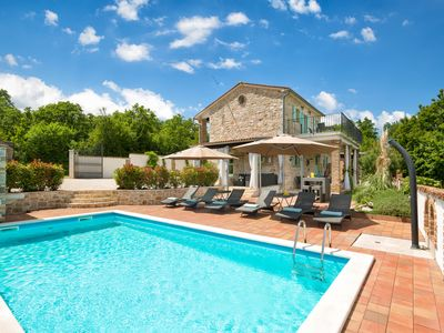 Photo for Authentic Villa Iva, in Istria, with a Pool