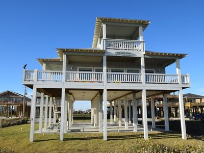 Photo for Best view on the beach--5 bedroom new beachfront - The Good Stuff
