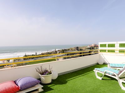 Photo for Spectacular ocean views - shared pool and 5 min walk to beach