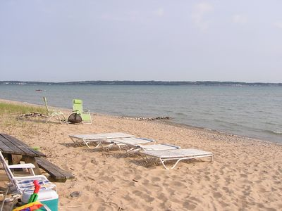 PRIVATE LAKE MICHIGAN BEACH COTTAGE-  RENT NOW REDUCED