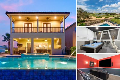 Experience this luxurious 7 bed villa on your next vacation