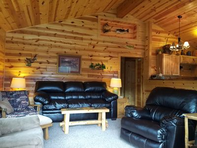 Manson Lake 4 Bedroom Lake Home. Recently Renovated!