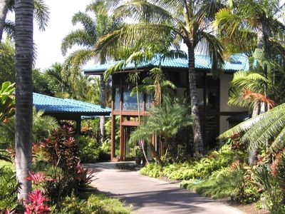 Photo for 5 BR Tropical Oasis Estate ~  5 minutes to Town ~ Pool, Spa, Tennis
