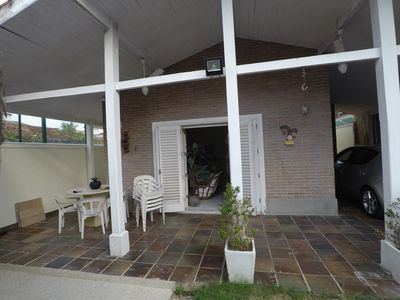 Photo for House with Pool and Barbecue in Enseada Beach - 2 blocks from the beach