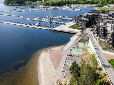 Photo for Luxury penthouse with magnificent bay view by the Oslofjord