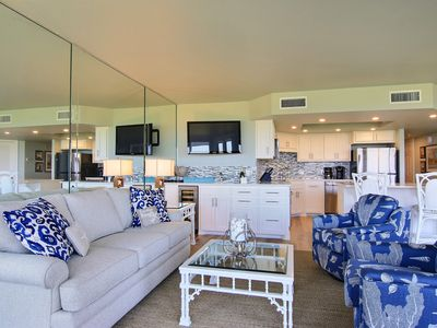 Photo for Sandpiper  #102: Beachfront 2 Bedroom 2 Bathroom With Spectacular Views and 24 Hour Management
